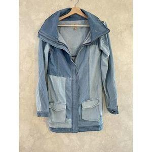 One Teaspoon Boys Don't Cry Patchwork Denim Jacket